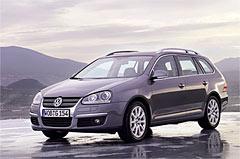 VW Golf получает кузов