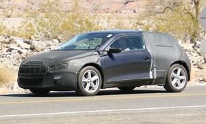 Шпионы засняли на трассе Volkswagen Scirocco