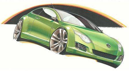 """В 2010 году Volkswagen удивит новым """"Жуком"""" (Beetle)"""