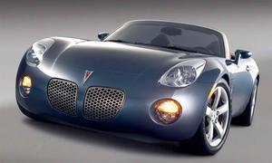 Купе Pontiac Solstice сойдет с конвейера в 2008 году