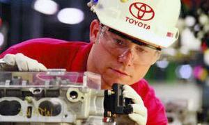 Чистая прибыль Toyota за квартал выросла почти на треть