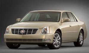 Cadillac выпустит DTS и STS в платиновой серии