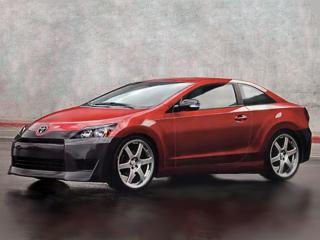 До каких-либо официальных данных ещё далеко, но кто-то из народа уже реализовал на компьютере свои фантазии относительно внешнего вида будущего купе от Toyota.