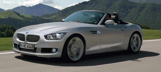 Новый родстер BMW Z4 будет выпускаться в Германии