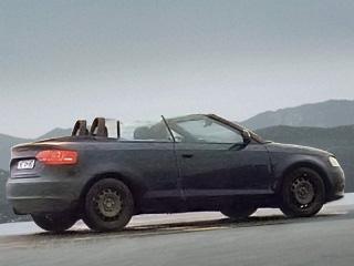 Испытатели Audi вовсю катаются на новеньком кабриолете A3