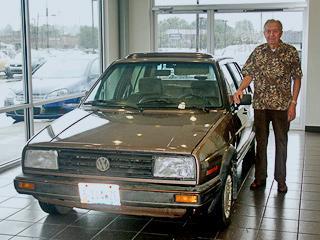Volkswagen отыскал в США самую заезженную дизельную машину