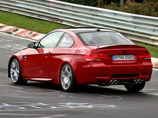 BMW продолжает гонять по Нордшляйфе купе M3