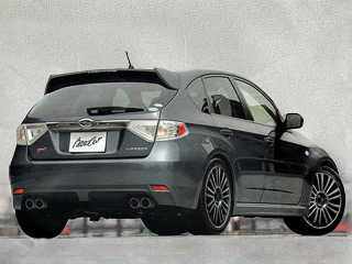 Появились изображения новой Subaru Impreza WRX STI