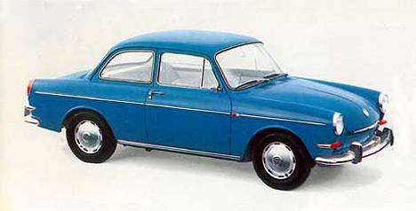 Volkswagen 1500 S — седан среднего класса с двигателем увеличенного рабочего объёма