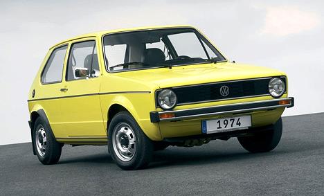 Знаменитый VW Golf, единственный автомобиль марки Volkswagen, сумевший побить рекорд Beetle по уровню продаж