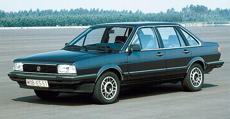 Созданный на базе Passat, Volkswagen Santana оснащался мощным по тем временам двухлитровым пятицилиндровым мотором