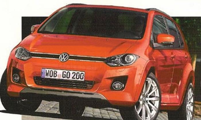 Volkswagen кросовер