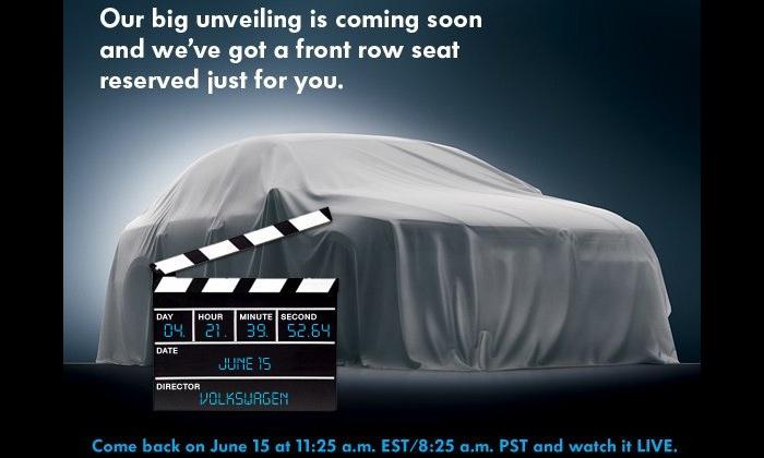 Volkswagen показал первый тизер Jetta