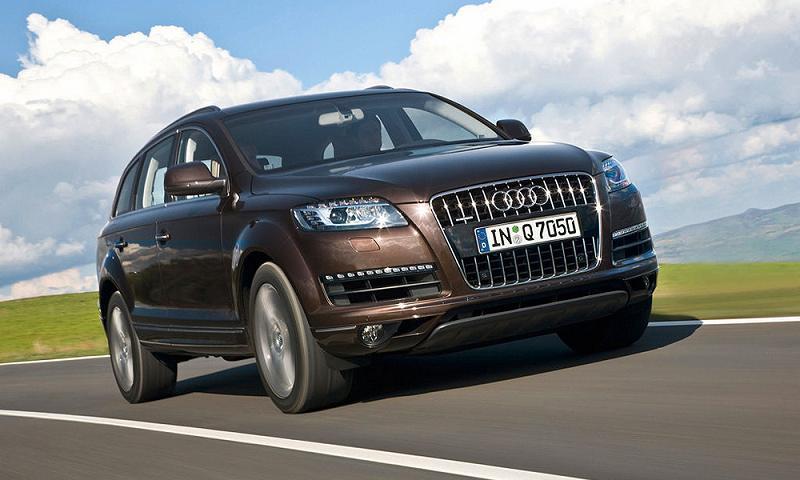 Audi представляет Q7 с новыми двигателями в России