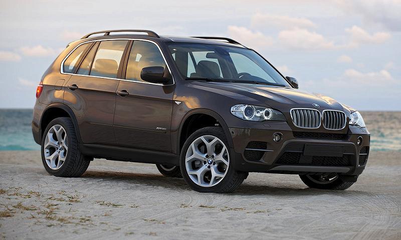 BMW отзывает X5 и X6 из-за ошибки в маркировке