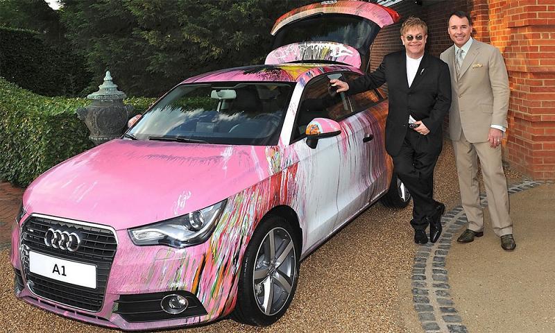 Деньги от продажи уникального Audi A1 пойдут в пользу больных СПИДом