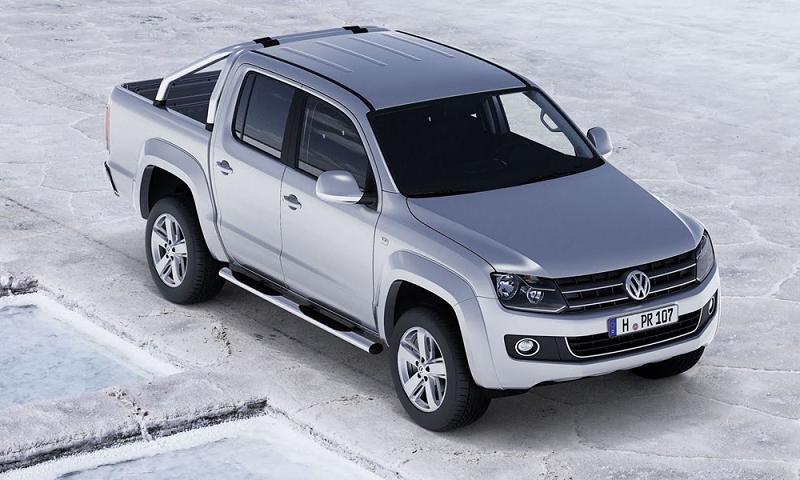 Компания Volkswagen показал Москвичам пикап Amarok
