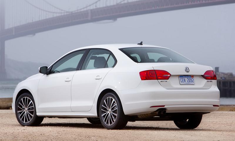 Компания Volkswagen опубликовала технические данные Jetta 2010