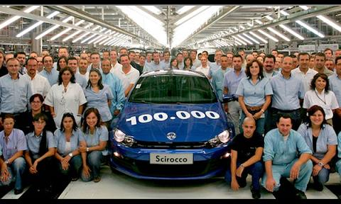 Volkswagen выпустил 100 тысяч Scirocco