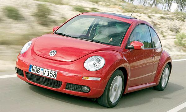 Volkswagen планирует представить жука new в этом году
