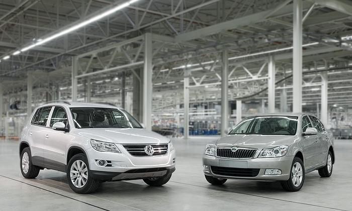 Российский завод Volkswagen увеличил своё производство в два раза