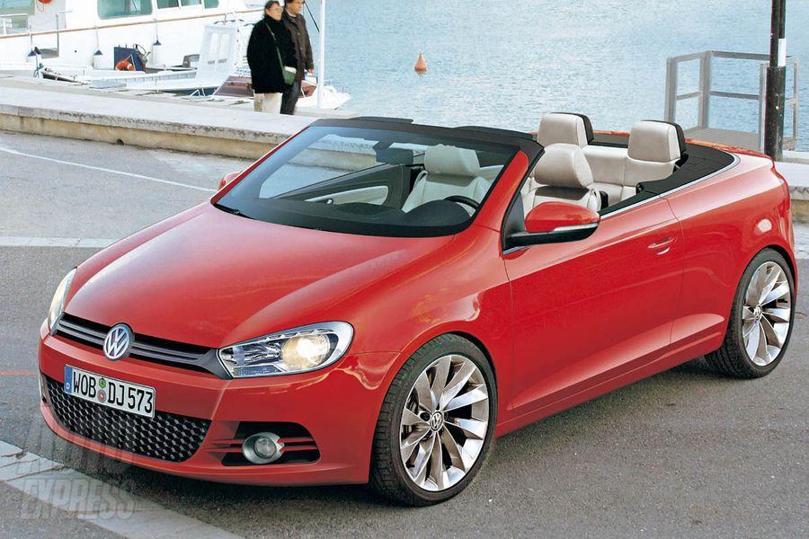 Volkswagen выпустит кабриолет Golf в 2011 году