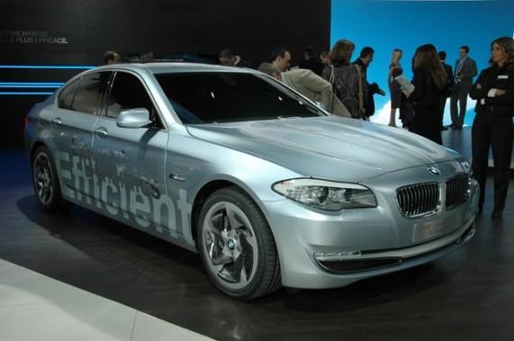 BMW представил ActiveHybrid 5-Series