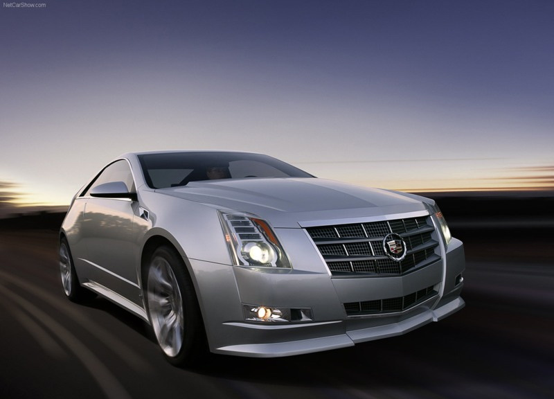 Cadillac покажет CTS Coupe