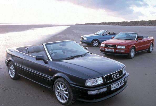 Audi показала два кабриолета