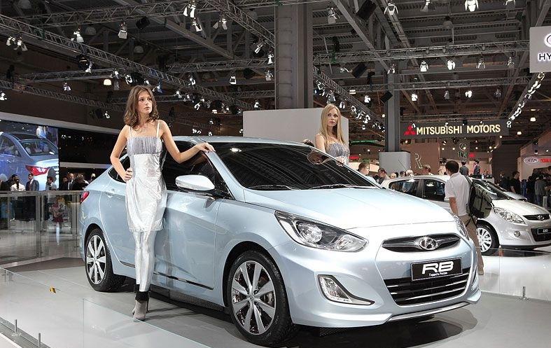 Hyundai представила седан для России