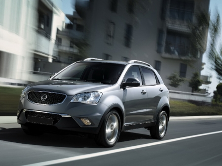 SsangYong представил NEW Actyon