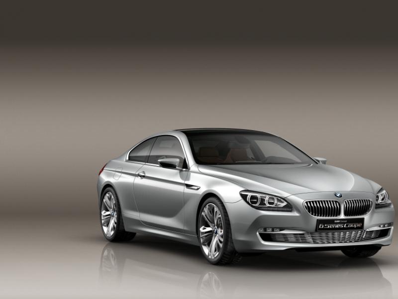 BMW 6 Coupe Concept – уже совсем скоро в серию