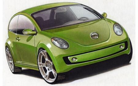 Новый Volkswagen Beetle проигнорировал Детройт ради Женевы