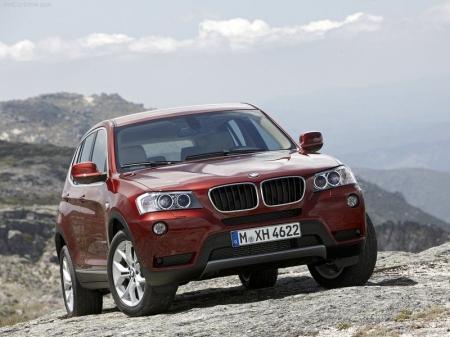 BMW Х3 New опробует российский «паркет»