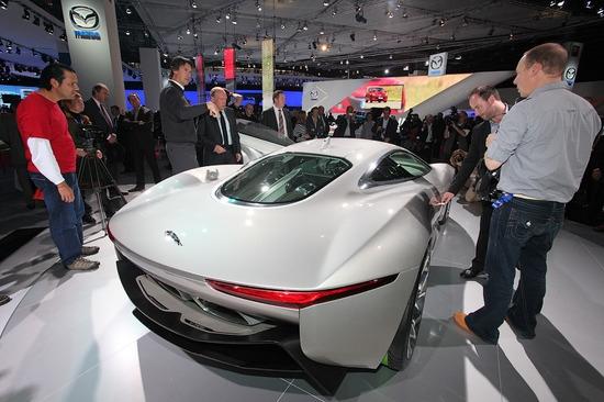 Jaguar подтвердил запуск в серию шоу-кара C-X75