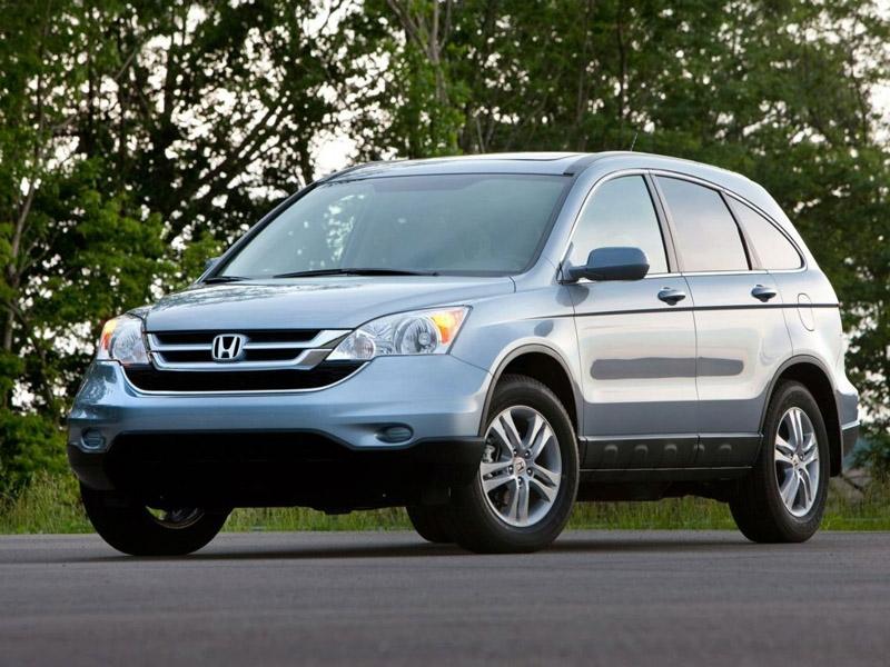 В новый Honda CR-V втиснут третий ряд сидений