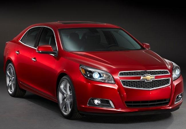 Chevrolet официально представил новый Malibu
