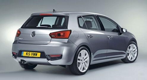 Volkswagen Golf седьмого поколения заточили в кузов шестой модели