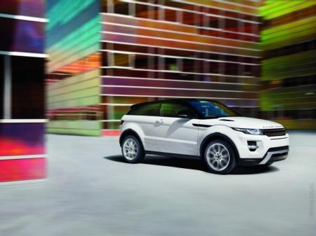 Range Rover Evoque «снесет крышу»