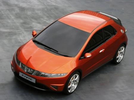 Новый пятидверный Civic 5D первым увидит Франкфурт