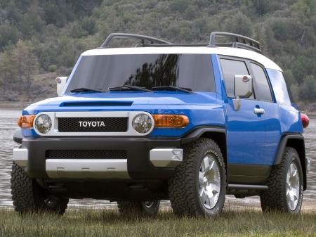 Toyota FJ Cruiser представила версию Trail Teams 2012 года