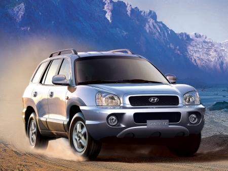Наследник Hyundai Santa Fe «ушел в горы»