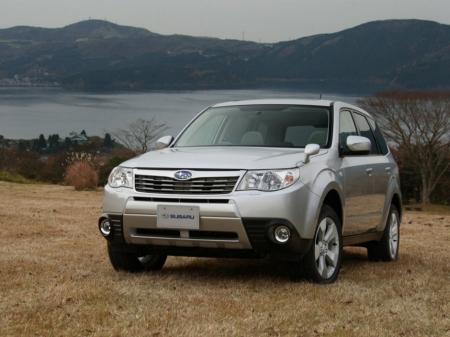 В 2012 году начнутся продажи дизельного Subaru Forester