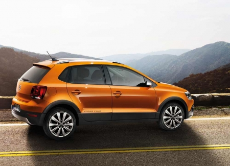 Новый Volkswagen CrossPolo появился в России