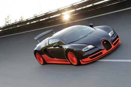 Новая спортивная Bugatti покоряет мир