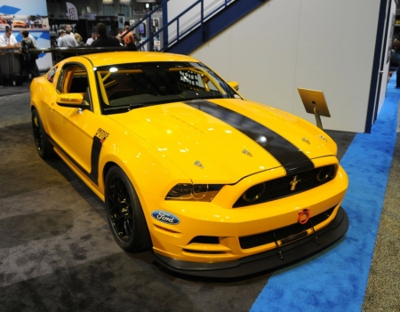 Mustang Boss 302SX в Орландо