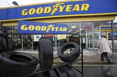 Goodyyear представили шины с автоматической подкачкой