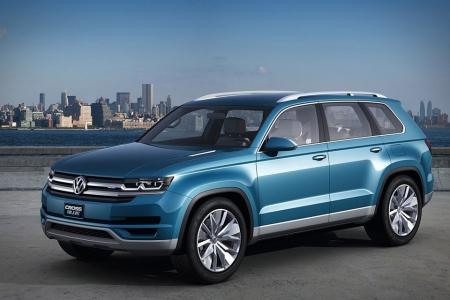 Volkswagen CrossBlue будет доступен в 2016 году