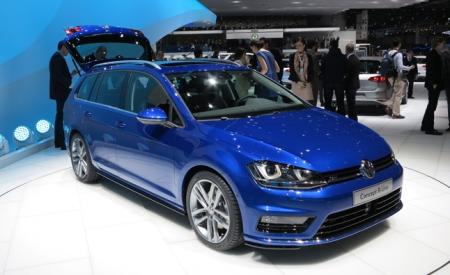 Volkswagen Golf R Estate: все-таки встречаем!